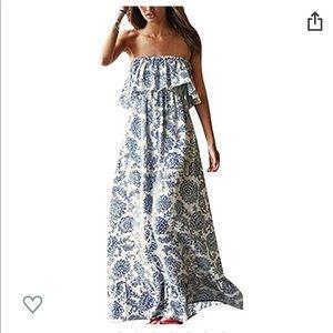 Dresses & Skirts - NWOT Boho Maxi Dress Sz Sm